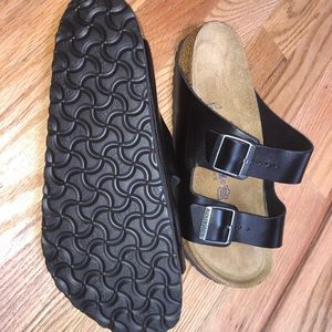 Birkenstock's size 41, like new, worn once briefly